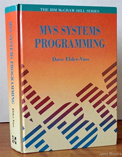 9780077077679: MVS Systems Programming (Ibm Mcgraw-Hill)