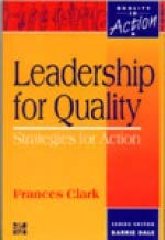 9780077078287: Leadership for Quality: Strategies for Action (Quality in Action)