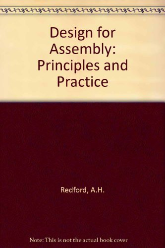 9780077078386: Design for Assembly: Principles and Practice
