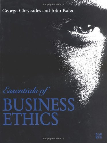 9780077078560: Essentials of Business Ethics (UK Higher Education Business Management)