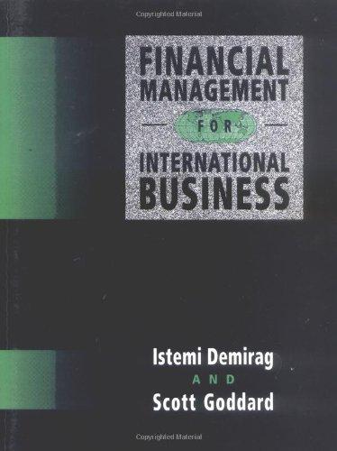 9780077078690: Financial Management For International Business
