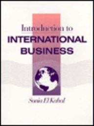 Introduction to International Business: El Kahal, Sonia
