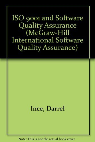 9780077078850: Iso 9001 and Software Quality Assurance (The Mcgraw-Hill International Software Quality Assurance)