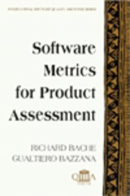 9780077079239: Software Metrics for Product Assessment (McGraw-Hill International Software Quality Assurance)