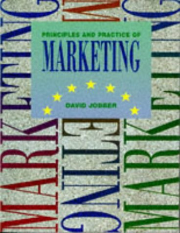 9780077079352: Principles and Practice of Marketing