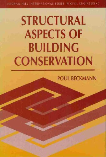 9780077079901: Structural Aspects of Building Conservation