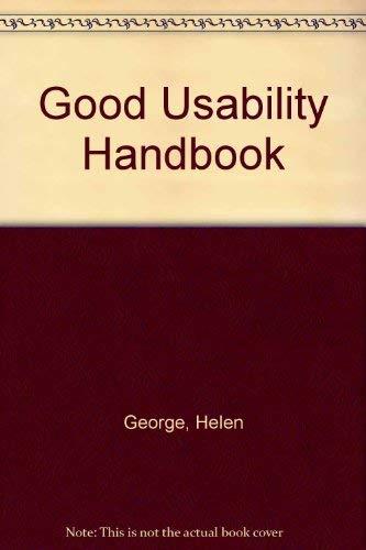 9780077090234: Good Usability Handbook
