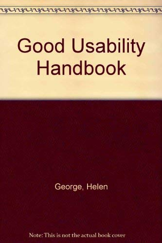 9780077090234: The Good Usability Handbook