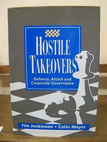 9780077090296: Hostile Takeovers: Defense, Attack, and Corporate Governance