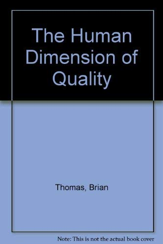 9780077090517: The Human Dimension of Quality