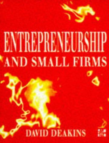 9780077090685: Entrepreneurship and Small Firms
