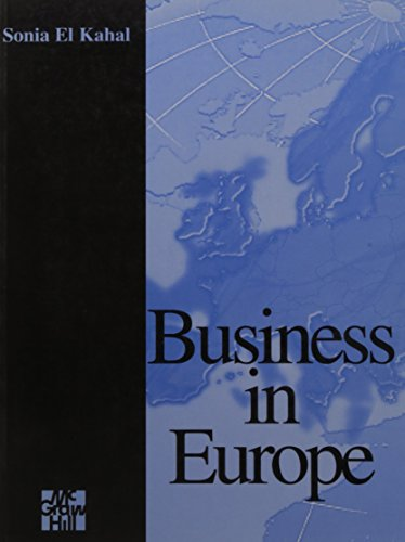 Business in Europe: Kahal, Sonia