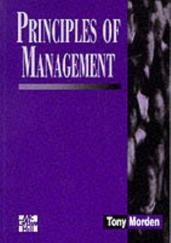 9780077091231: Principles of Management