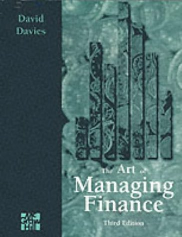 9780077091781: Art of Managing Finance 3/e