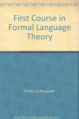 9780077092450: First Course in Formal Language Theory