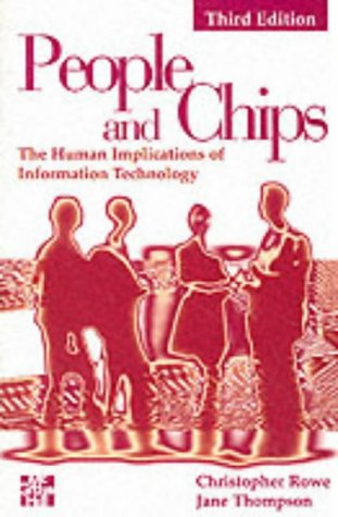 9780077093457: People and Chips: Human Implications of Information Technology