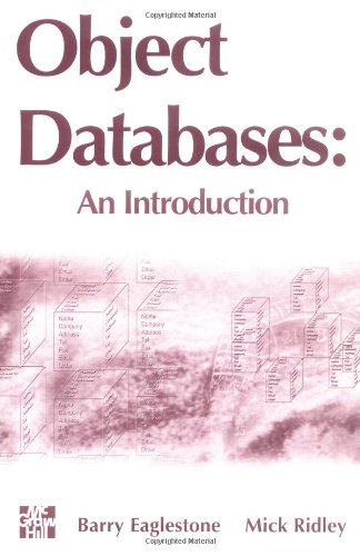 9780077093549: Object Databases: An Introduction