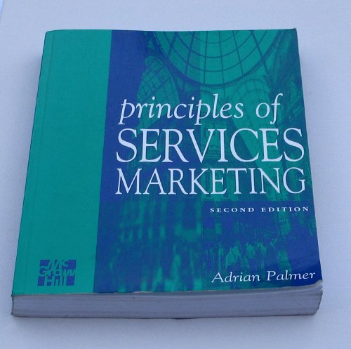9780077094348: Principles of Services Marketing