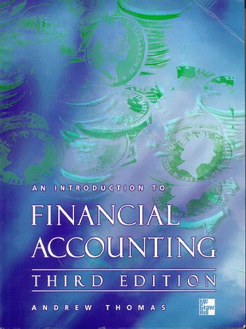9780077094805: An Introduction to Financial Accounting