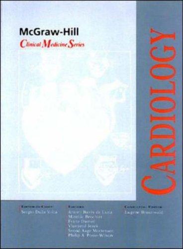 9780077095185: Cardiology (McGraw-Hill Clinical Medicine)