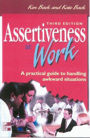 9780077095338: Assertiveness At Work