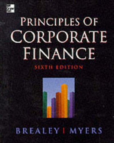 9780077095659: Principles of Corporate Finance