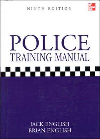 9780077096090: Police Training Manual