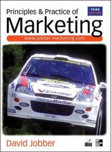 9780077096137: Principles and Practice of Marketing, 3rd Ed.