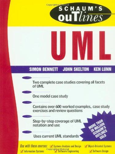 9780077096731: Schaum's Outline of UML