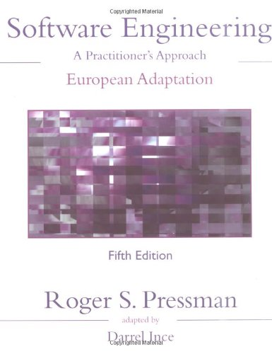 9780077096779: Software Engineering: A Practitioner's Approach: European Adaptation