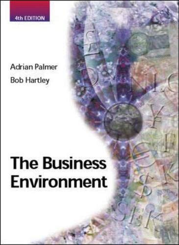 9780077097479: The Business Environment