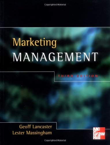 9780077097523: Marketing Management