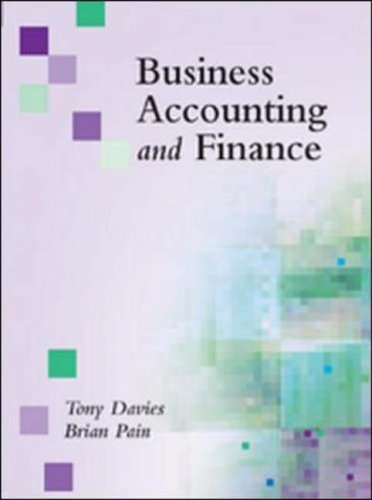 9780077098254: Business Accounting and Finance