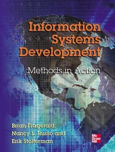 9780077098360: Information Systems Development: Methods-in-Action (UK Higher Education Computing Computer Science)