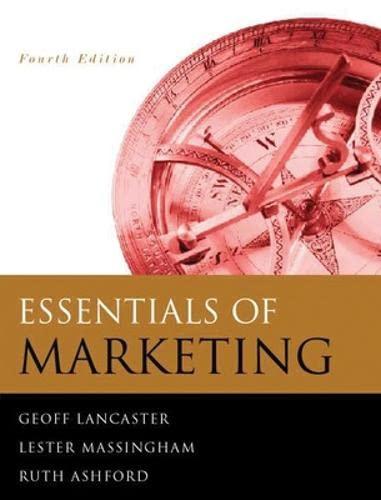 9780077098605: Essentials of Marketing 4/e