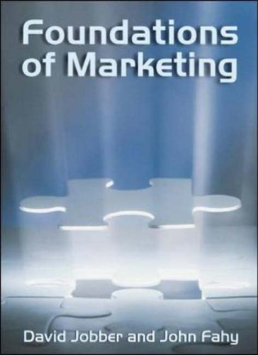 9780077098667: Foundations of Marketing