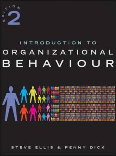 9780077098742: Introduction to Organizational Behaviour