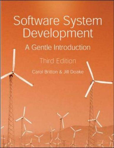 9780077099749: Software System Development: a Gentle Introduction, 3rd Ed.