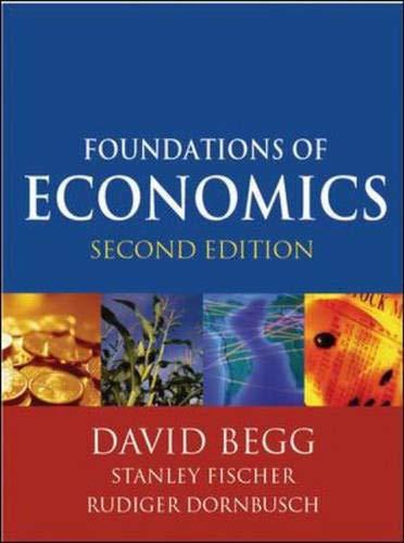 9780077099855: Foundations of Economics