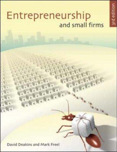 9780077099930: Entrepreneurship and Small Firms
