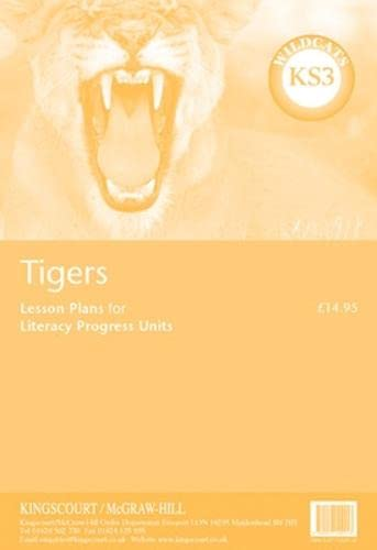 9780077102913: Tigers (Wildcats) Lesson Plans for Progress Units - Ks3