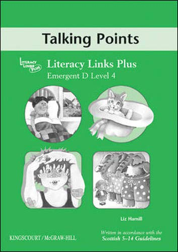 9780077103026: Emergent D (Level 4) Talking Points, Teacher's Notes for Literacy Links Plus (B04)