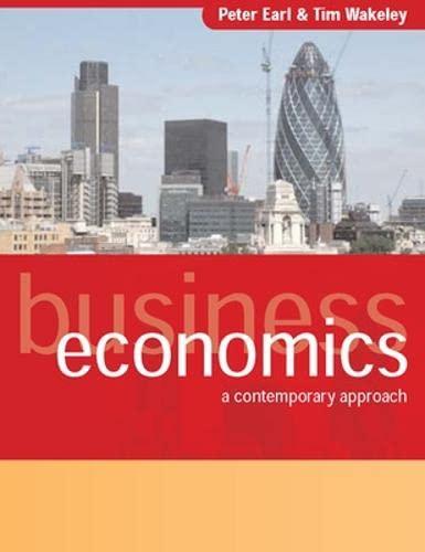 9780077103927: Business Economics: A Contemporary Approach