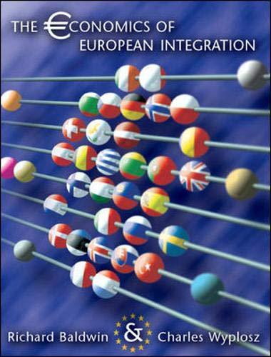 9780077103941: Economics of European Integration