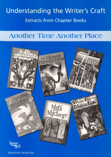 9780077106041: The Writer's Craft: Another Time Another Place