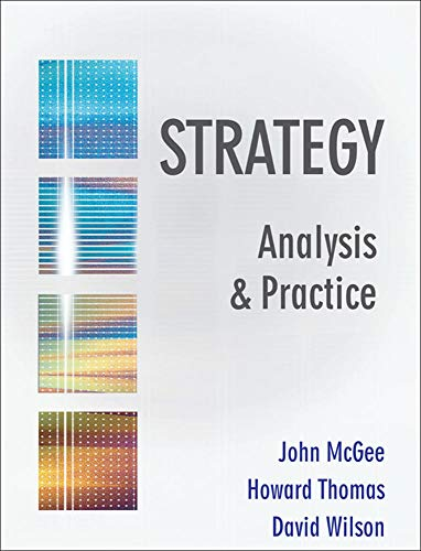 9780077107055: Strategy Analysis and Practice: Text Only
