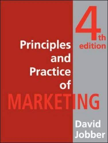 9780077107086: Principles and Practice of Marketing