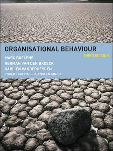 9780077107239: Organisational Behaviour: European Edition