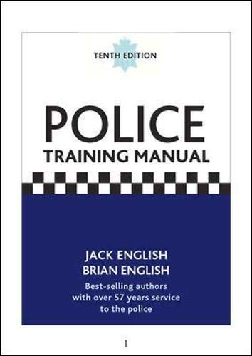 9780077107314: Police Training Manual, 10/e