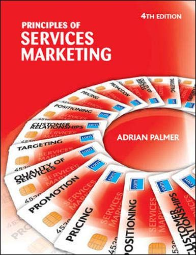 9780077107949: Principles of Services Marketing